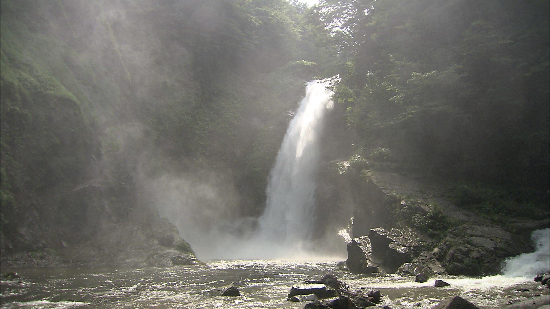 No.010122 秋保大滝