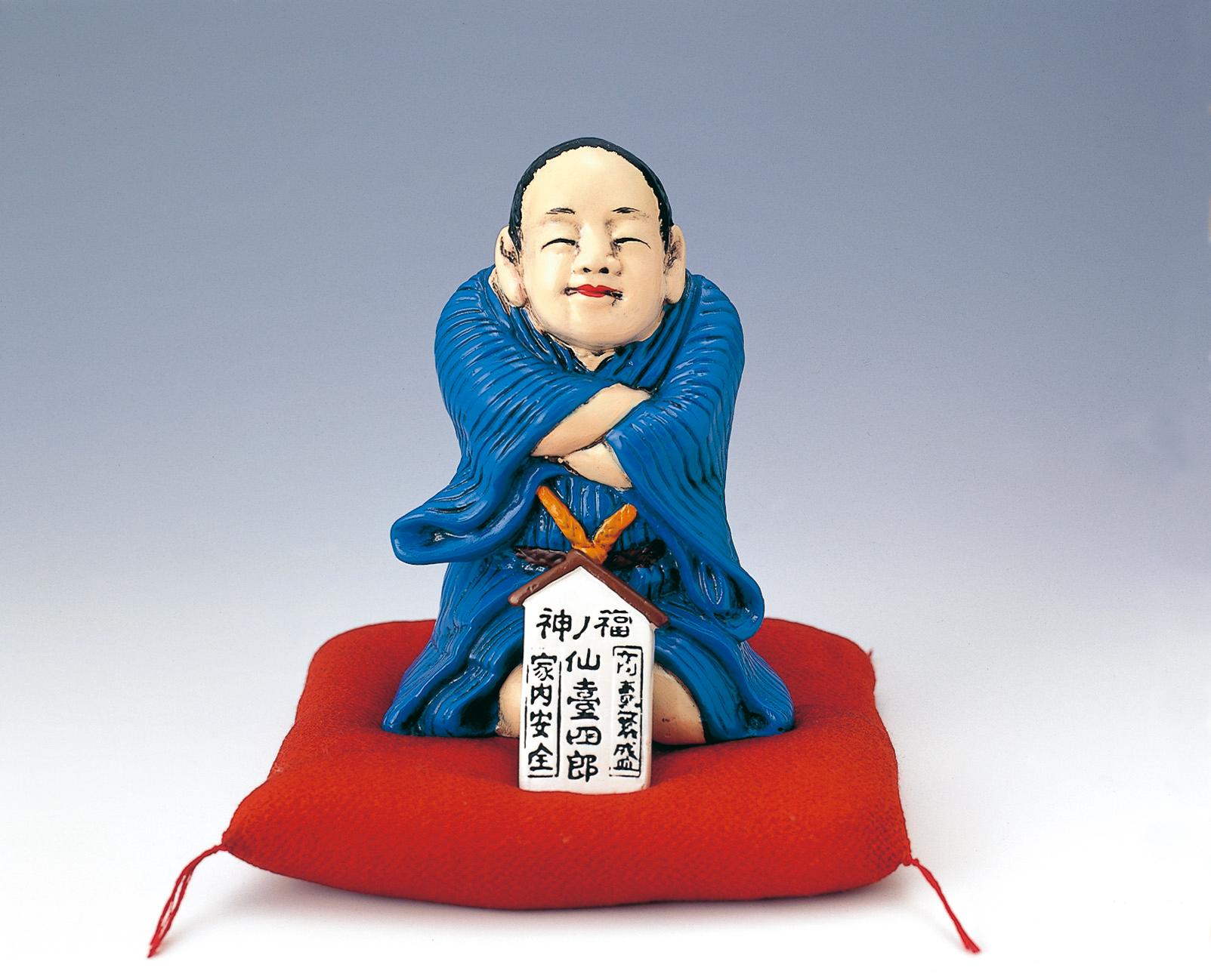 No.010395 仙台四郎の人形アップ