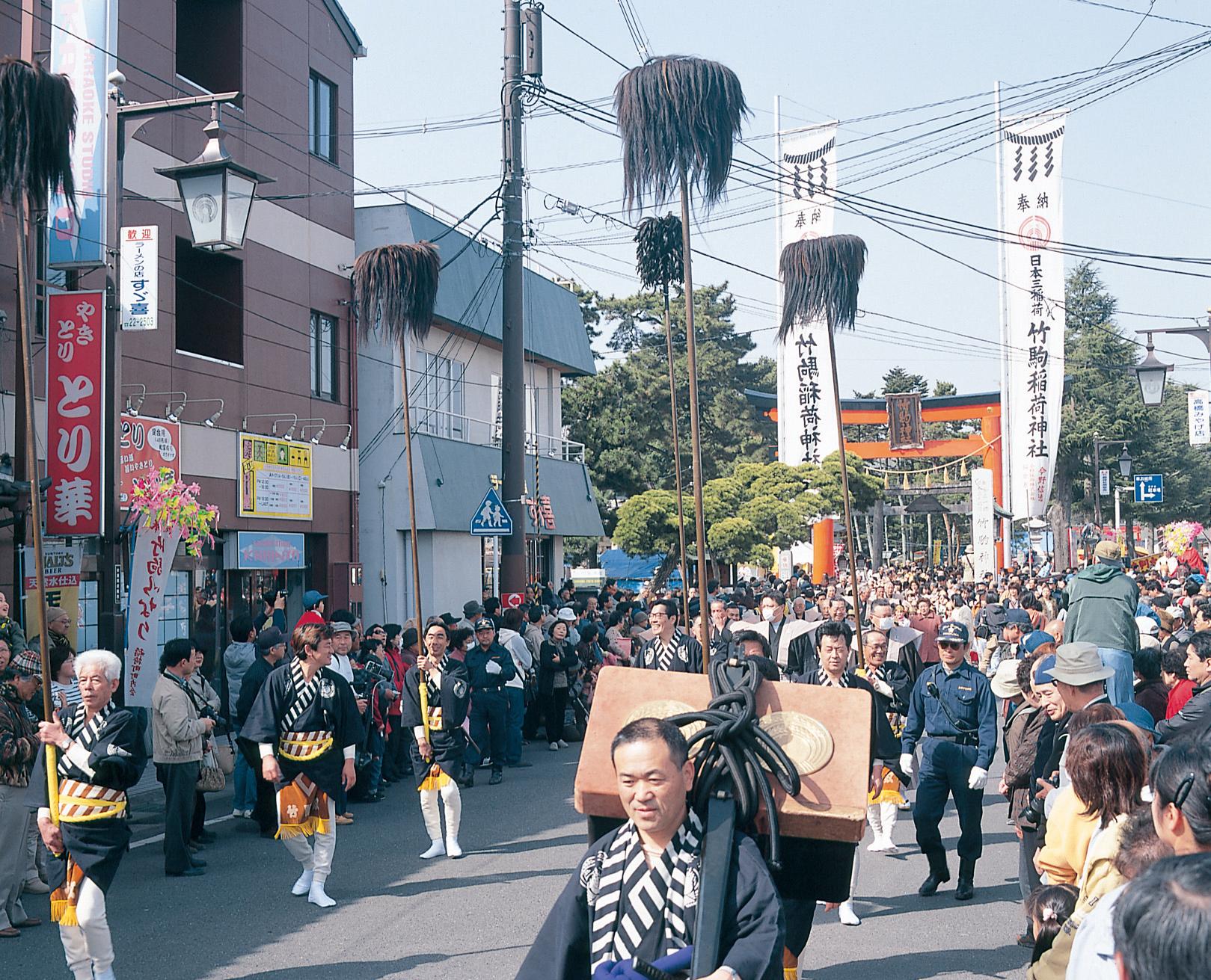 No.090011 竹駒神社初午大祭
