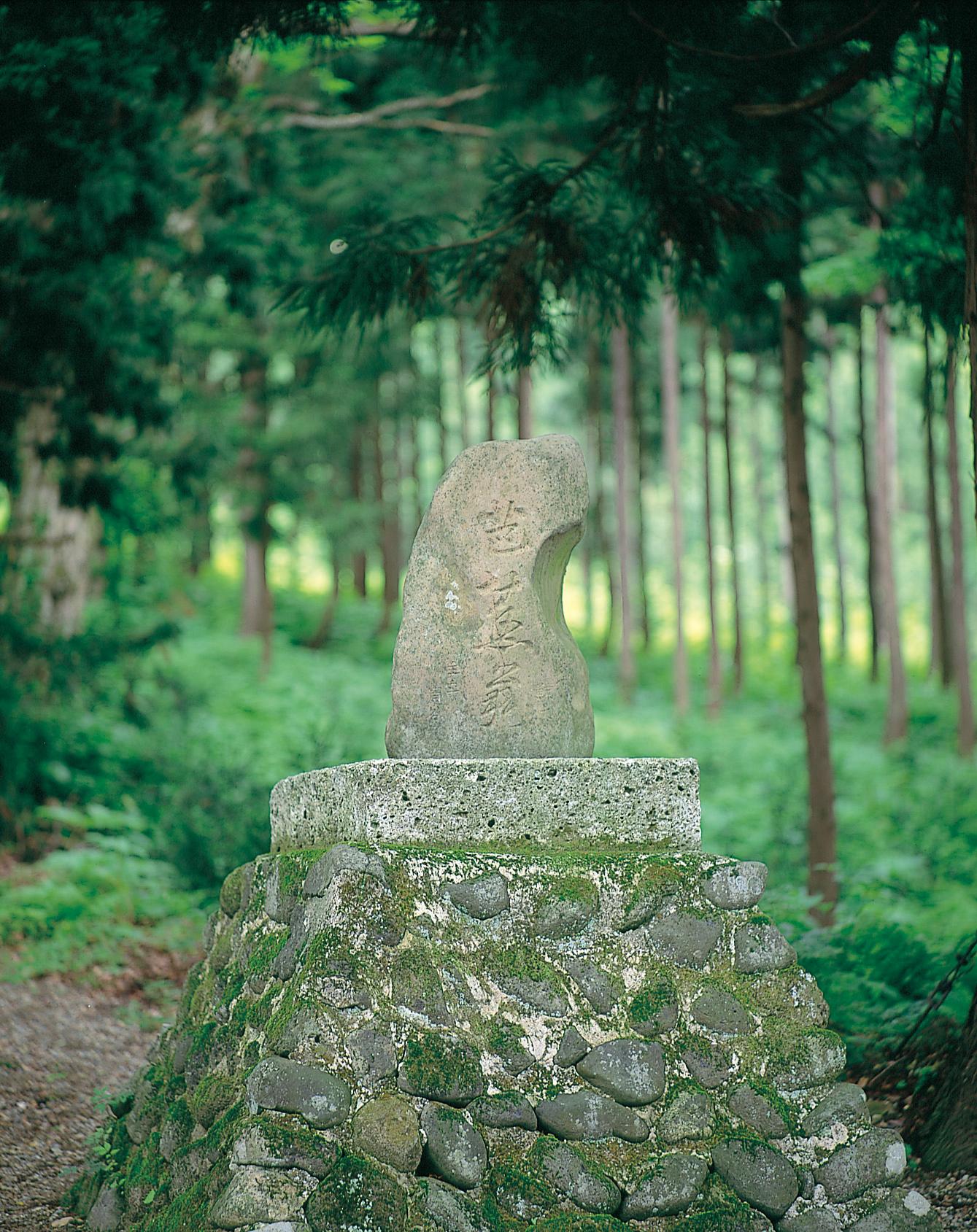 No.130088 芭蕉の碑
