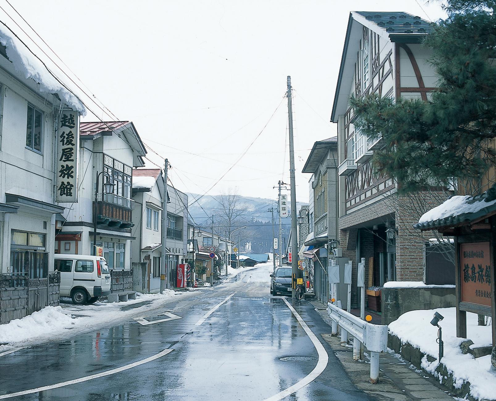 No.130142 川渡温泉街
