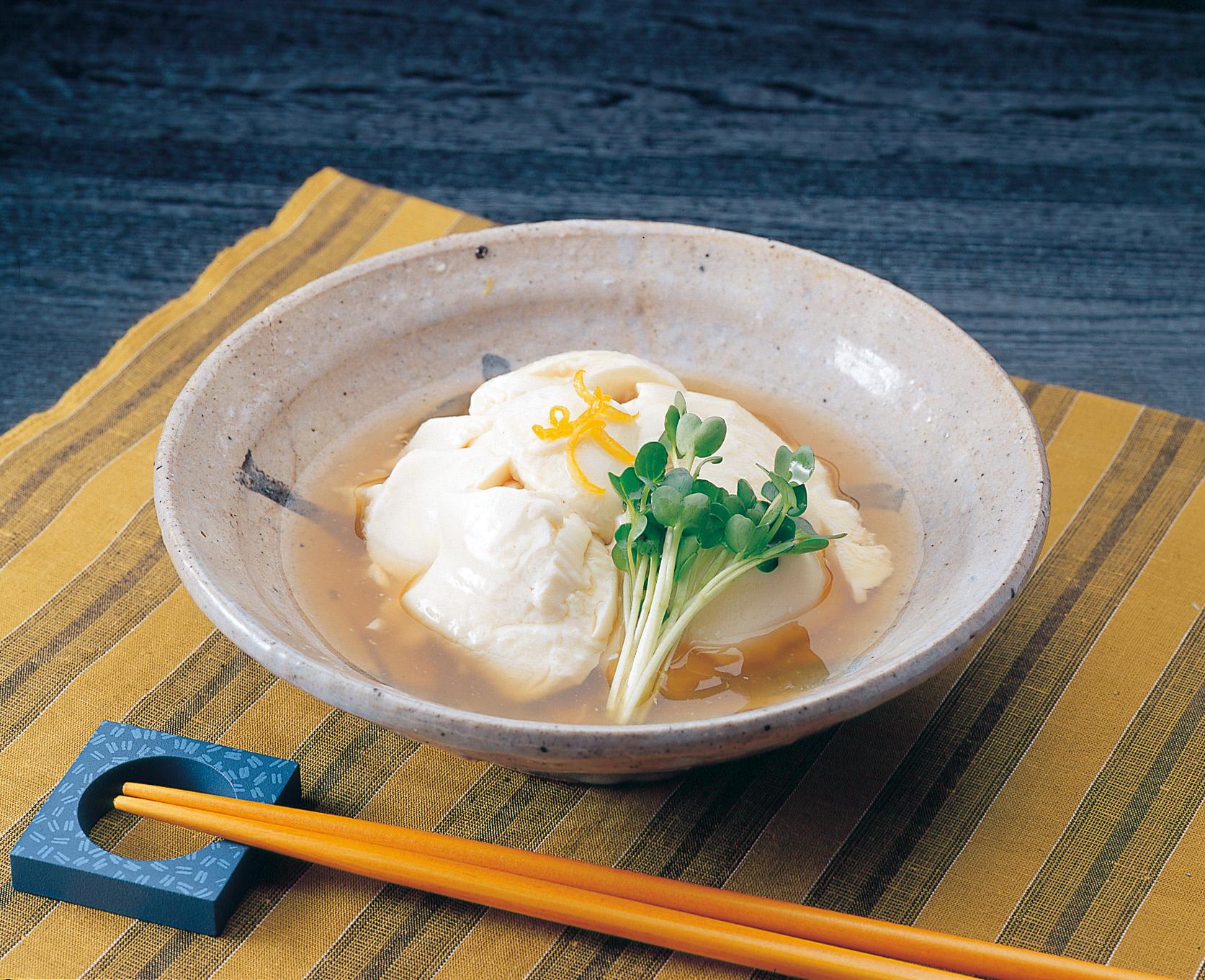 No.320017 おぼろ豆腐料理