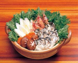 No.990069 牡蠣(かき・カキ)鍋