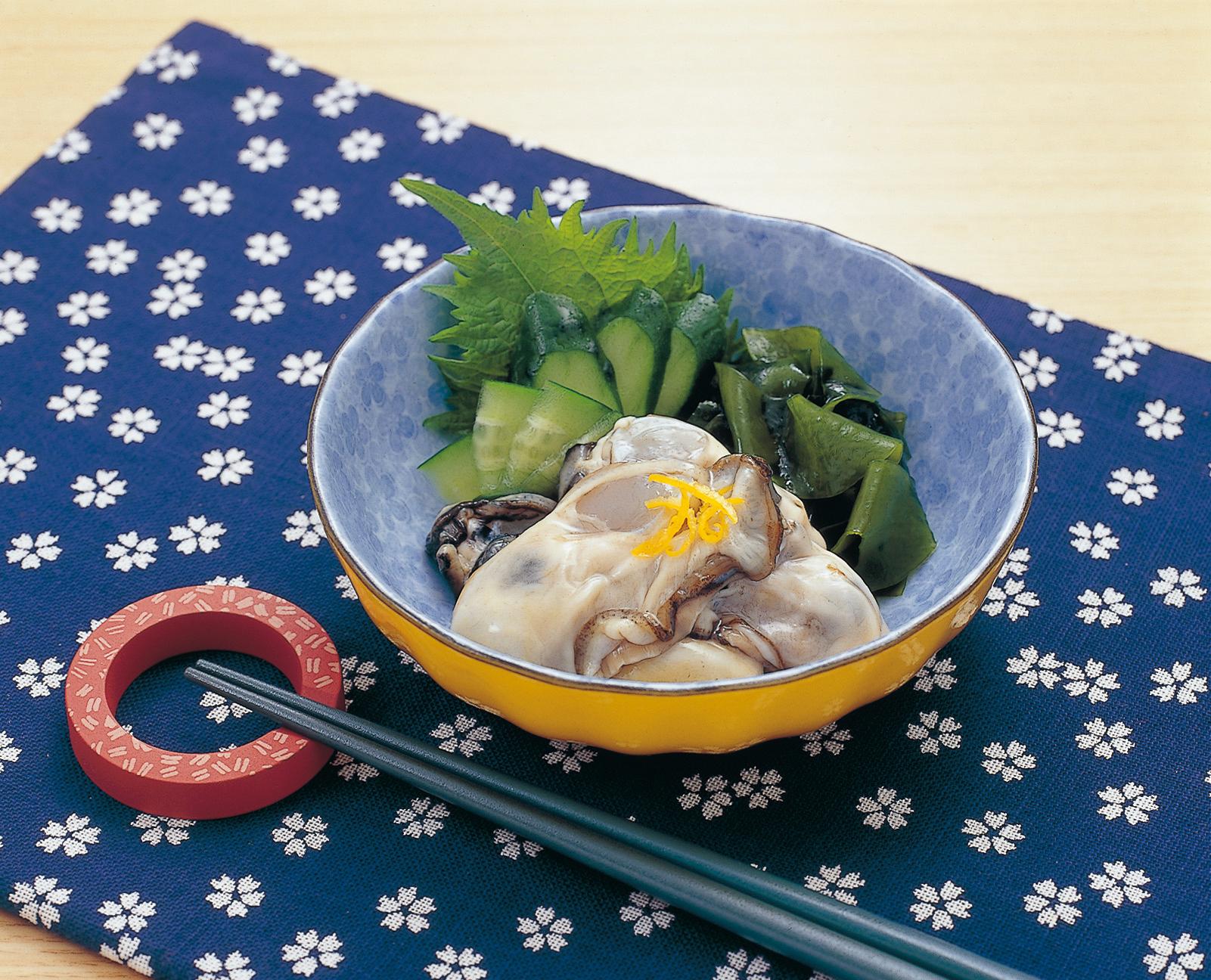No.990071 牡蠣(かき・カキ)の写真(生)