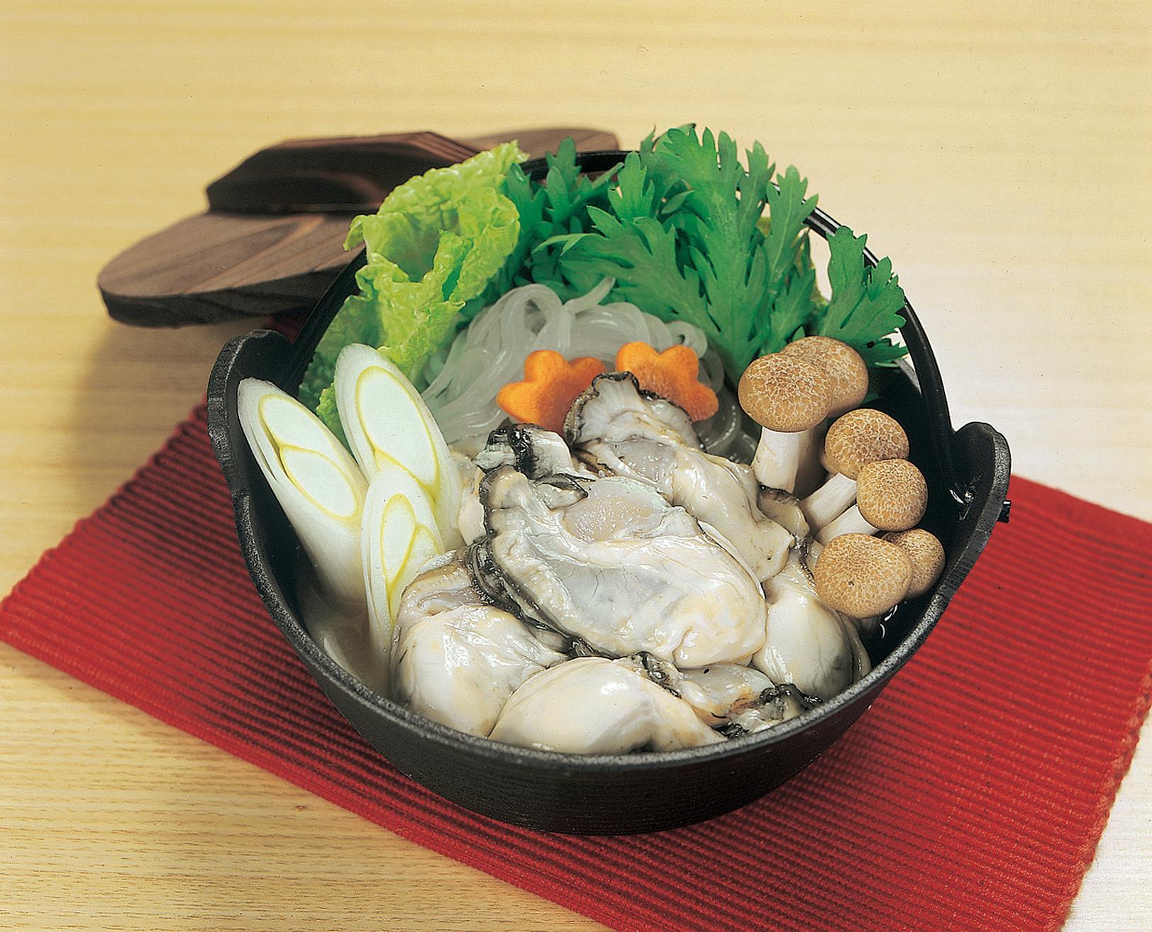 No.990072 牡蠣(かき・カキ)鍋